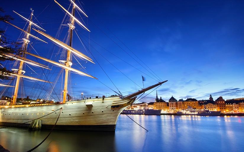תמונה מרהיבה של העיר שטוקהולם